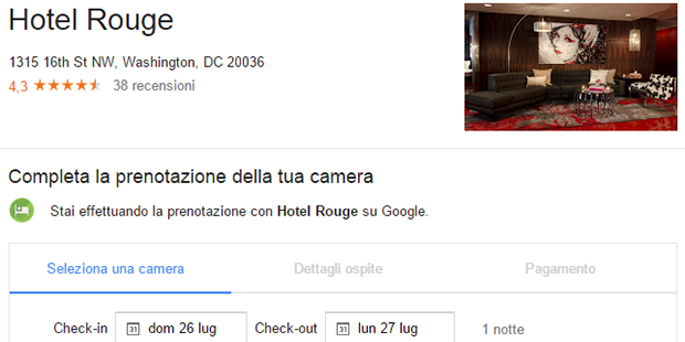 Google Instant Booking